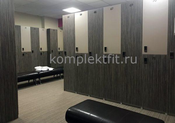 Мебель для раздевалок фитнеса Санкт Петербург