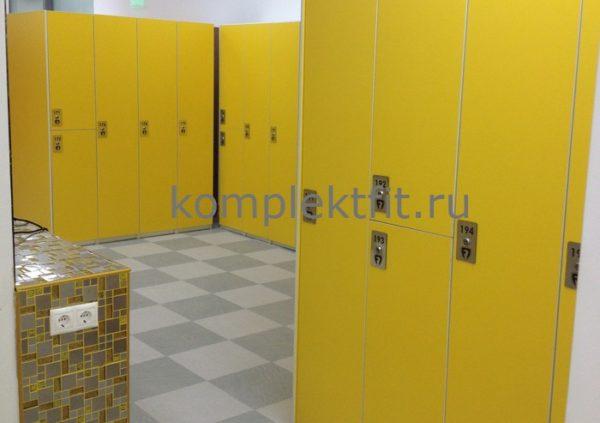 Шкафы для фитнес раздевалок в Москве
