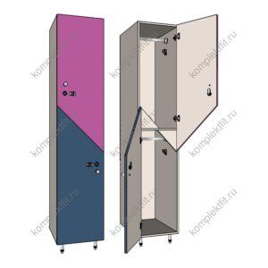 Шкаф для раздевалок Диагональ медиум