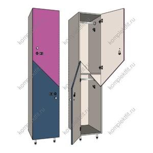 Шкаф 2х секционный для одежды