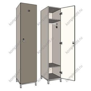 шкаф на металлокаркасе