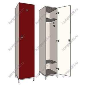 Шкаф гардеробный односекционный