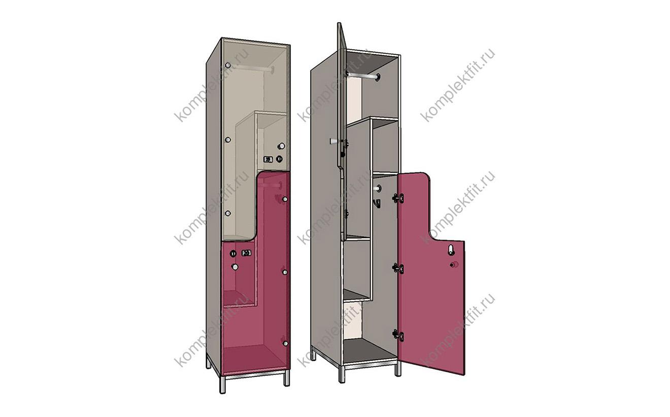 Шкафы F-образные