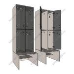 Шкафы скамейки изготовление