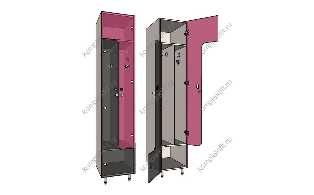 Шкафы L-образные