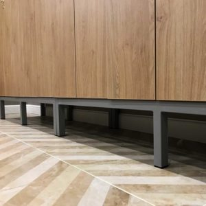 металлокаркас для шкафов в раздевалку
