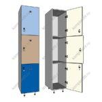 Шкаф для раздевания 3 х секционный