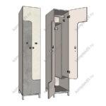Шкафчики для раздевалок ЛДСП СПБ