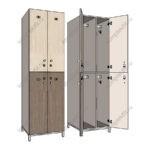 шкафы с электронными замками для раздевалок