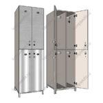 Шкафы гардеробные для производственных раздевалок