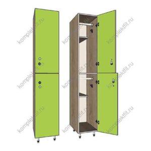 Шкаф для раздевалок Дабл эконом (F14247)