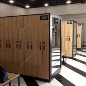 Шкафы с электронным замком для фитнес-клубов и спортивных залов