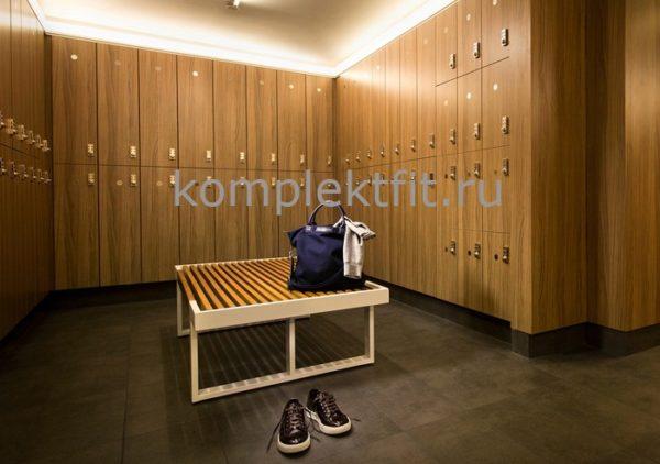 Мебель для спортивных раздевалок в школе