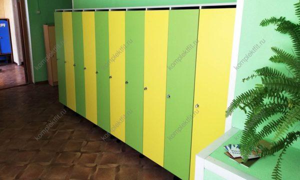 Шкаф в садик в раздевалку