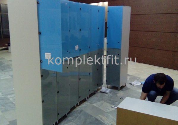 Заказать шкафчики для фитнеса в Москве