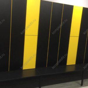Производство шкафов для раздевалок в деталях