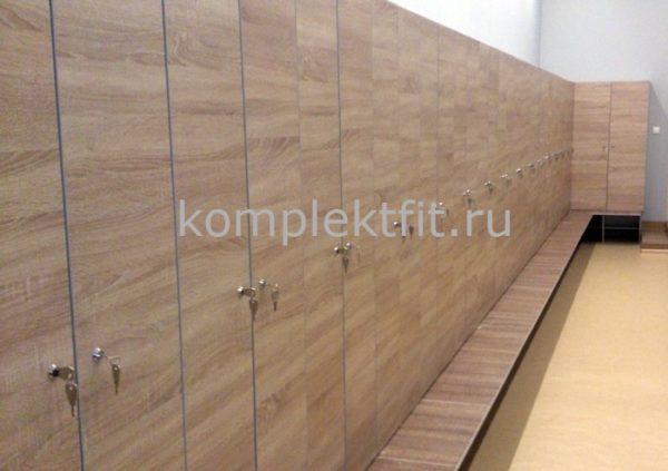 Шкафы для бани в раздевалку