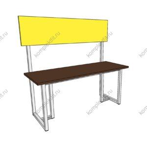 Скамейка одинарная усиленная - 950х400х1000 (ВхГхШ)