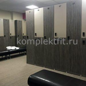СПБ деревянные шкафчики для раздевалок фитнес