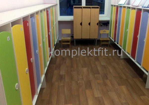 Шкаф раздевалки детский сад Подольск