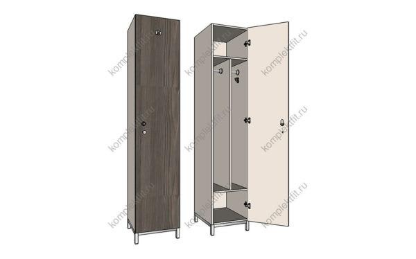Шкаф для раздевалки практик ls 21