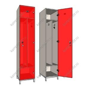 Односекционные шкафы